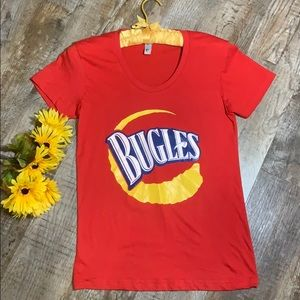 Bugles | Red Snack Food Classic Tee Shirt